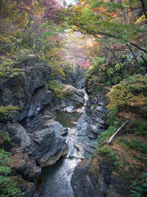 川原湯の秋